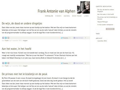 Frank Antonie van Alphen