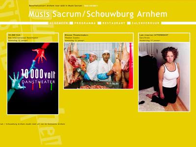 Musis Sacrum/Schouwburg Arnhem